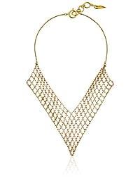 """Diane von Furstenberg """"Atlantis"""" Woven Chain Necklace, 16"""""""