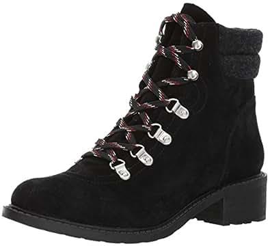 Sam Edelman Women's Darrah Ankle Boot, Black/Phantom Grey, 5 Medium US