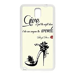 Malcolm Give A Girl The Right Shoes Fashion Comstom Plastic case cover For Samsung Galaxy Note3