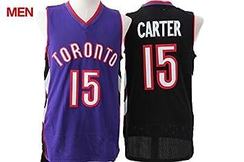 Image Unavailable. Image not available for. Colour  Toronto Raptors - Vince  Carter  15 Black ... 7dd403d4e