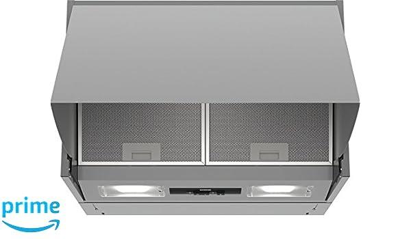 Siemens iQ100 LE66MAC00 - Campana (620 m³/h, B, A, C, 70 dB, 49 dB ...
