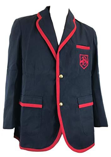 Glee Darlton Warblers Academy Suit Uniform Costume Set (M) Dark Blue