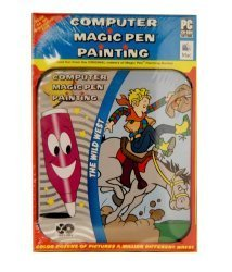 COMPUTER MAGIC PEN PAINTING (THE WILD WEST) by Lee Publications