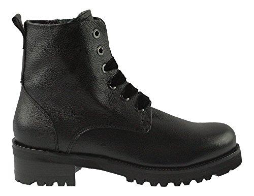 Maripe | Boots | Samtschnürsenkel - schwarz | nero, Farbe:schwarz;Größe:38.5