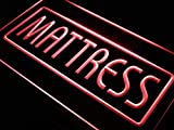 ADVPRO Mattress Bed Pad Mat Shop Lure LED Neon Sign Red 24'' x 16'' st4s64-i447-r