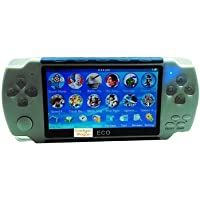 Gadget-Wagon ECO-1 8 GB 4.3 Inches With FM Radio & 1.3 MP Camera (G) 8 GB with Contra, Mario, 10000 Games Inbuilt(Green)