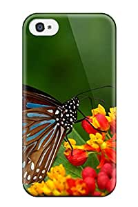 New SbYuKNF8786meTtI Butterfly Skin Case Cover Shatterproof Case For Iphone 4/4s