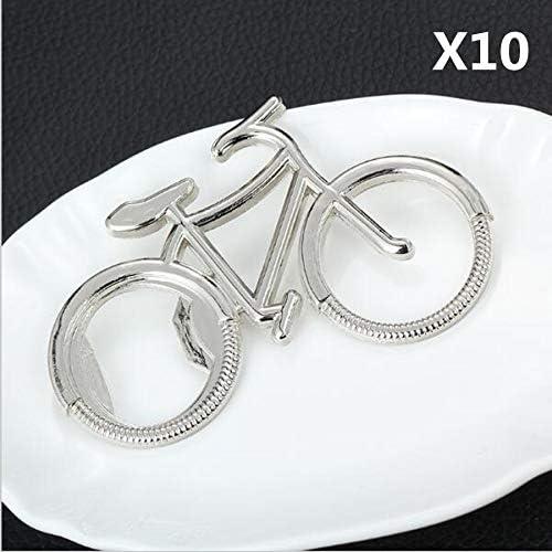 Aprigy - 10pcs / llaveros Lindo Lote de Bicicletas Metal Botella ...