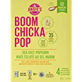 Angie's Boom Chicka Pop Microwave Popcorn Sea Salt - 4 Bags, 1 Count