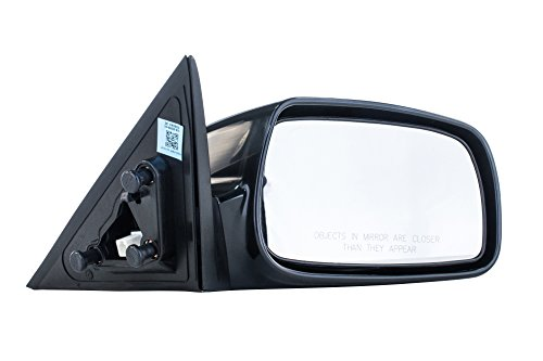 (Right Passenger Side Mirror for Toyota Camry (USA Built) (2007 2008 2009 2010) Unpainted Non-Heated Non-Folding Door Outside Rear View Replacement)