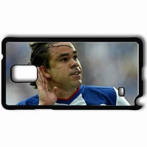 Personalized Samsung Note 4 Cell phone Case/Cover Skin Adriano Louzada Football Black