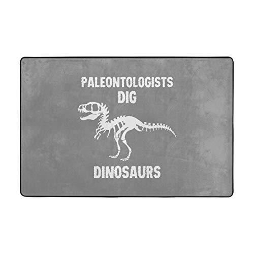 - HGDFAG Paleontologists Dig Dinosaurs Door Mat Home Decor, Mat Rug Indoor Dining Room Rubber Non Slip Gloor Mat