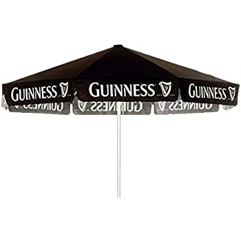 Lovely GUINNESS STOUT 9 Foot BEER UMBRELLA MARKET PATIO STYLE NEW