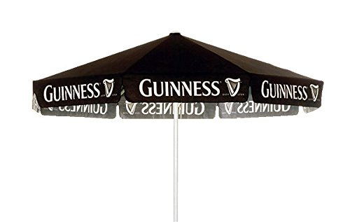 GUINNESS STOUT 9 foot BEER UMBRELLA MARKET PATIO STYLE NEW (Patio Guinness Umbrella)