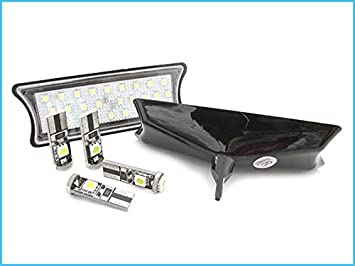 Plafoniere Per Auto A Led : Kit plafoniera luci led di cortesia lettura bmw e bianco