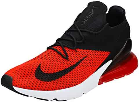 new style 39116 0248e Nike Air Max 270 Flyknit - Men s Chili Red Black Challenge Red White