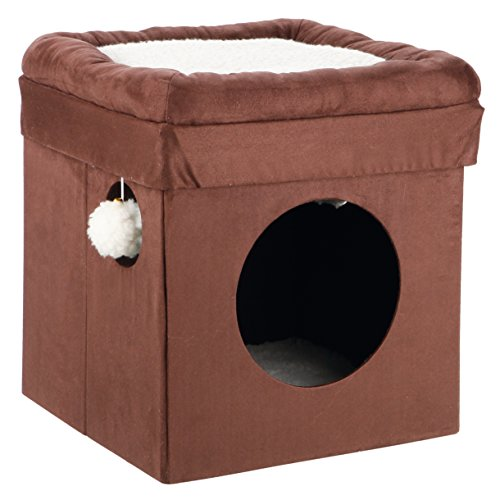 TRIXIE Pet Products Miguel Fold and Store Cat Tower 41MbyKDykNL