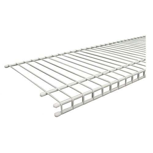 ClosetMaid SuperSlide 72 In. W X 12 In. D White Ventilated Wire Shelf