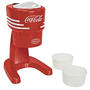 Nostalgia RISM900COKE Coca-Cola Electric Shaved Ice & Snow Cone Machine