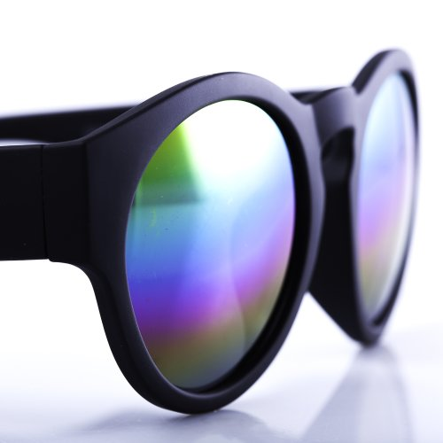 Rainbow Sunglasses Lenses Revolution Iridescent Accessoryo FBdxqF