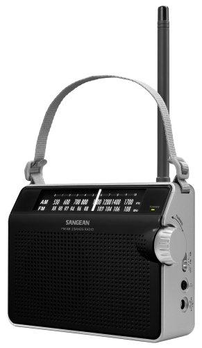 Am/Fm Compact Analog Radio Black