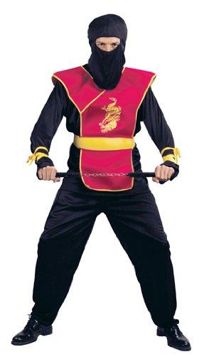 Desconocido Disfraz de guerrero ninja de lujo para hombre ...