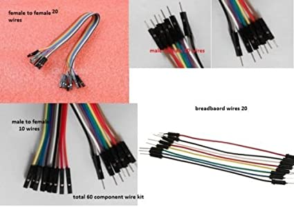 Types Of Wire | 60 Wire Dupont Male To Female M M F F Breadboard Jumper Wires 4