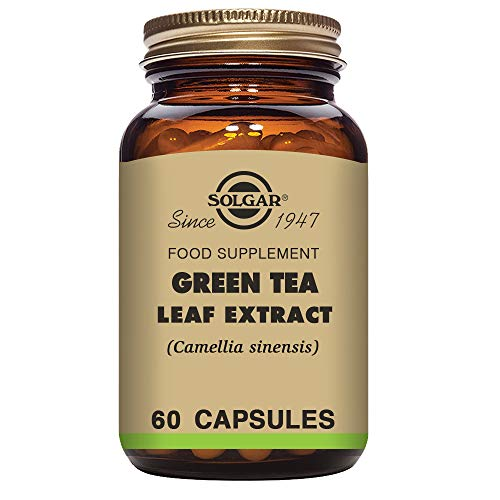 Cheap Solgar Standardized Full Potency Green Tea Leaf Extract Vegetable Capsules, 60 Count