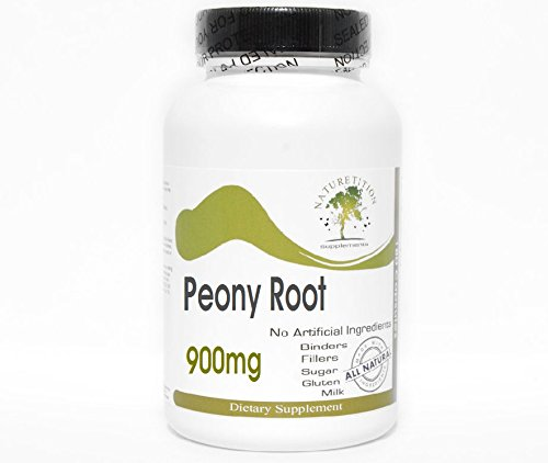 Peony Root 900mg ~ 90 Capsules – No Additives ~ Naturetition Supplements For Sale