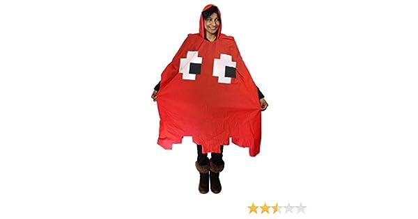 Pacman Poncho - Red (disfraz): Amazon.es: Juguetes y juegos
