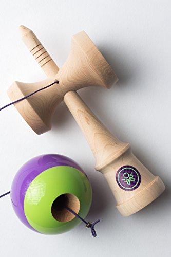 Sweets Kendamas Prime Pro Model Kendama - Sticky Paint, Hardwood Maple, Extra String Accessory Bundle (Matt Sweets Jorgenson) by Sweets Kendamas (Image #4)