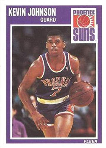 1989-90 Fleer #123 Kevin Johnson Suns NBA Basketball Card (RC - Rookie Card) -