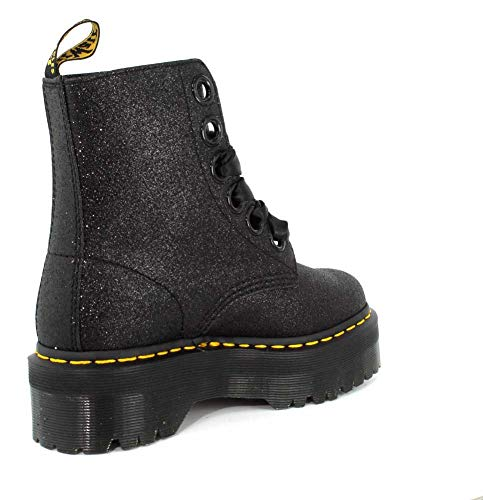 Martens Black Womens Boot Glitter Molly Glitter Dr PUdaq1wP