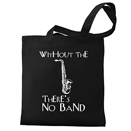the no band Canvas Eddany Without Saxophone Tote Bag there's Alto 5ZpqYX