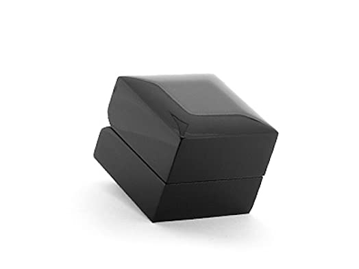 Luxury High Gloss Wooden Ring Box - Black Wood  sc 1 st  Amazon UK & Luxury High Gloss Wooden Ring Box - Black Wood: Amazon.co.uk ... Aboutintivar.Com