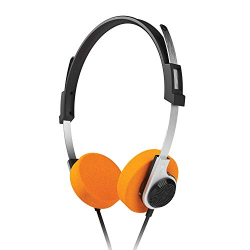 VoltEdge TX20 Game & Go Headset for PS4, PC, Xbox One and Mobile. Retro Style, Light Weight Stereo on Ear Gaming Headphones.