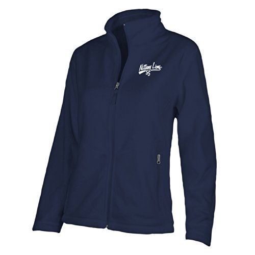 (NCAA Penn State Nittany Lions W Luxe Jacket, Large, Navy)