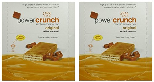 Power Crunch POWER CRUNCH SALTED CARAMEL, 2 Pack of 12 ct