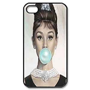 Audrey Hepburn For Samsung Galaxy S3 I9300 Case Cover Audrey Hepburn She Asked About Her and Said She Wants a Poster for Girls , For Samsung Galaxy S3 I9300 Case Cover Cute for Girls [Black]
