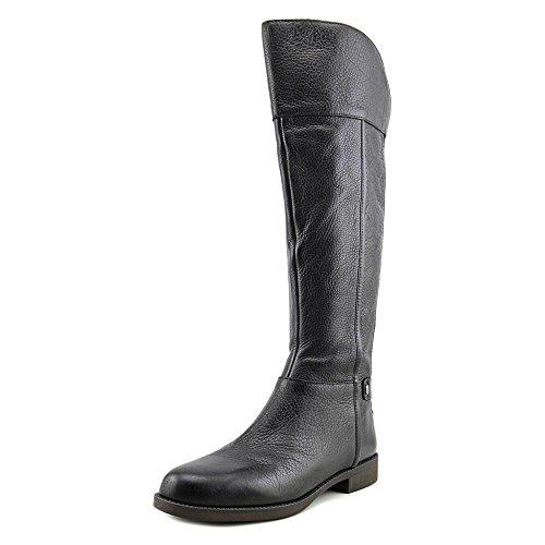 Black L Boot Franco Christine Leather Riding Sarto Women's qSnCUwAPF