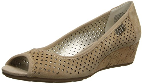 Anne Klein Sport Women's Cadwyn Wedge Pump - Natural - 8....