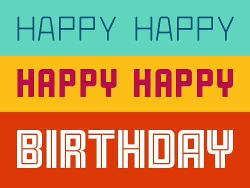 Happy happy birthday egift card link image