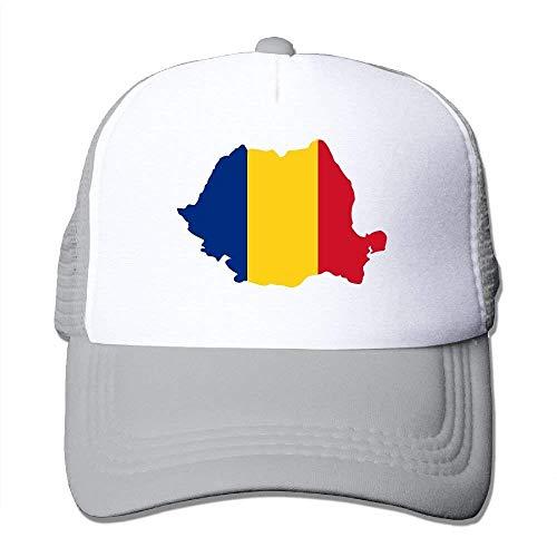Cap Hat Flag Mesh Trucker Two béisbol rongxincailiaoke Gorras Romanian Adjustable Tone XBwngvxP