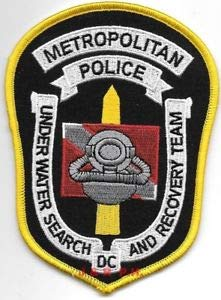 (New Washington D.C. Metro Underwater S.A.R. Shoulder Police Patch (fire) by HighQ Store)