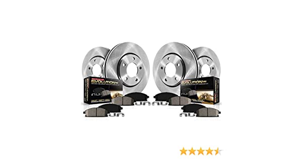 Autospecialty KOE4109 1-Click OE Replacement Brake Kit