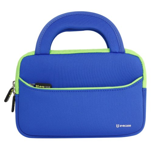 Evecase Ultra-Portable Neoprene Zipper Carrying Case with Ac