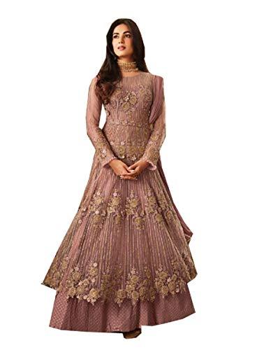STELLACOUTURE Fashion Anarkali Salwar Kameez Party Wear Maisha (Pink 2, XS-36)