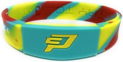 Amazoncom Sportsbraceletspro Reversible Wristband Adultteen 77