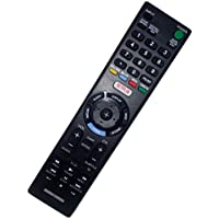 Replaced Remote Control Compatible for Sony KDL-40R550C KDL-40W600D KDL40W657D KDL-48R510C KDL32W607D Smart LED HD TV with NETFLIX Button