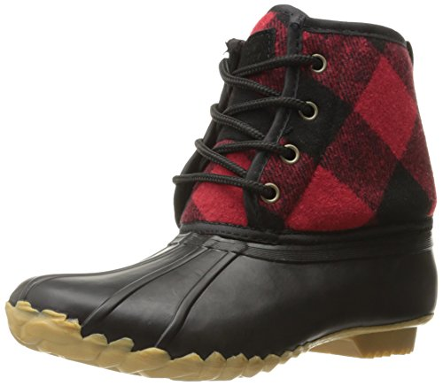 Western Chief Women's Fashion Duck Boot, Buffalo Red, 8 M US